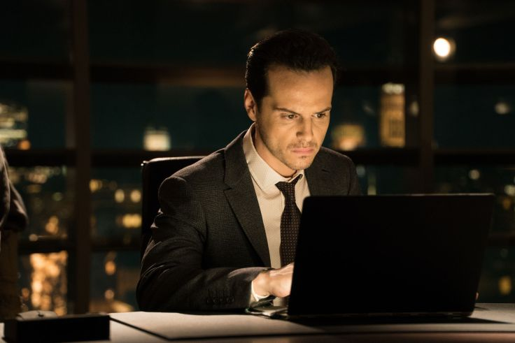Andrew Scott as MI5 boss Max Denbigh/C